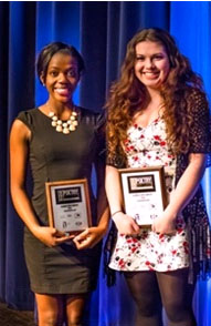 Illinois Poetry Out Loud winner and runner-up for 2014