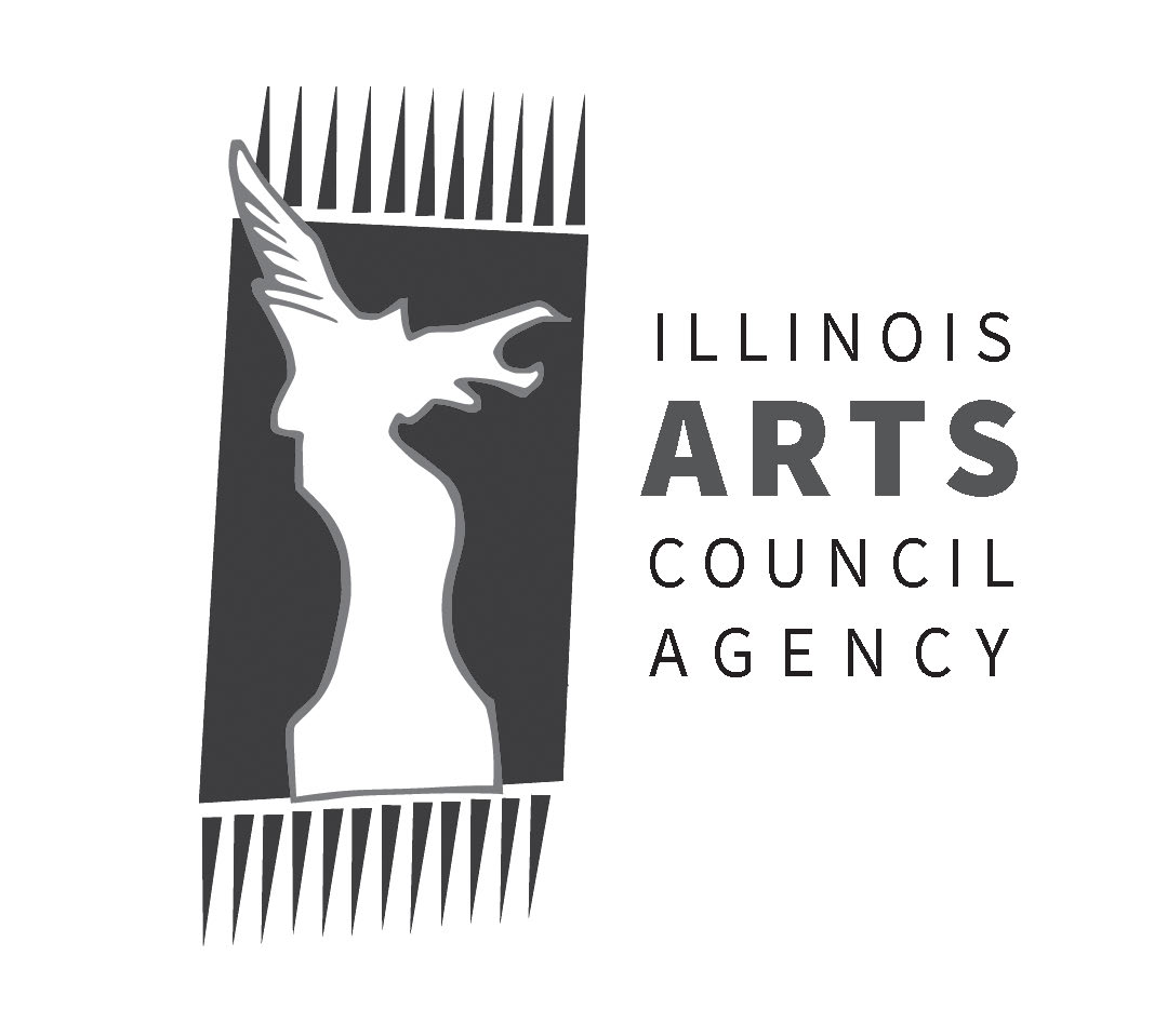 "Illinois Arts Council Agency Logo: ""Hybrid Muse"" 